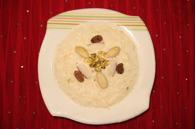 Indian Rice Pudding recipe