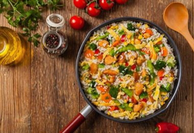 What is the Best way to reheat fried rice